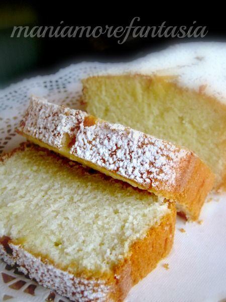 Plumcake+al+limone+ricetta+con+soli+albumi