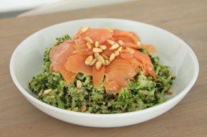 broccoli zalm gerecht - dayennes foodblog