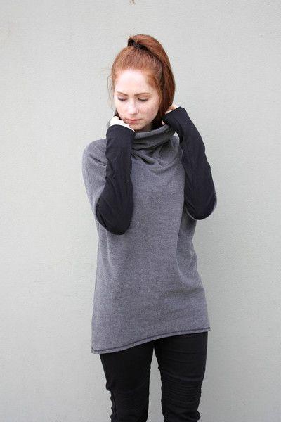 S Anika Long Sweter   - Navaho - NAVAHO - Koszulki i bluzy
