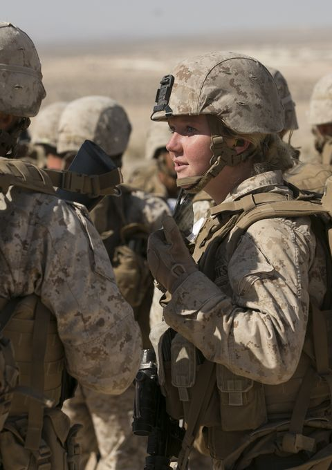 All-female Marine grunt team gets innovative during combat tests