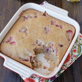Strawberry Lemon Poppyseed Bake [edible vegetable] eat365.com.au