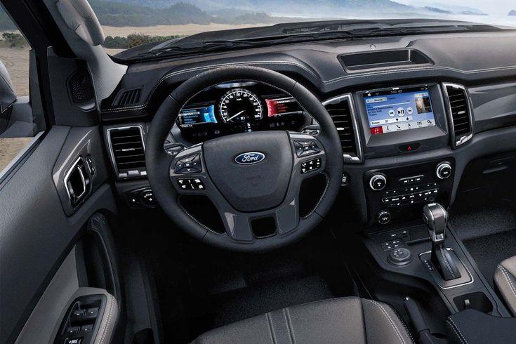 2019 Ford Ranger LARIAT Interior.
