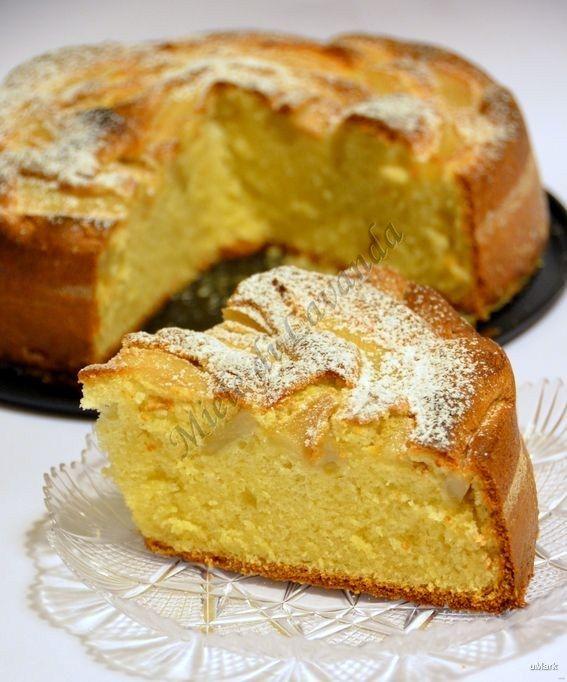 Ricetta Torta soffice con pere e noci | Miele di Lavanda