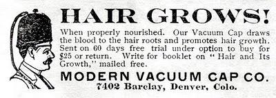 Vacuum Hair Grower