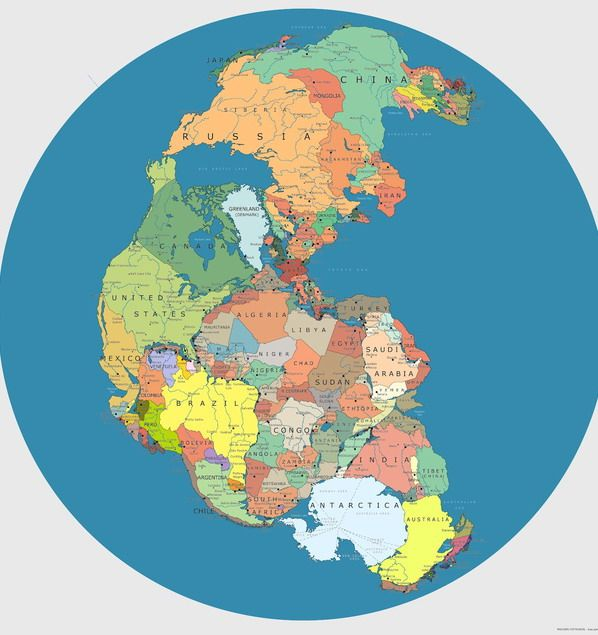 Pangaea ! Find your country here