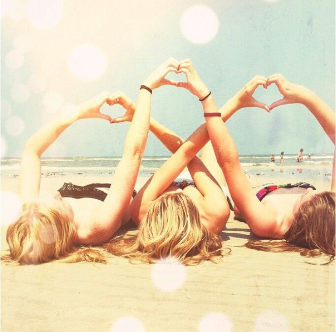 Summer with girlfriends