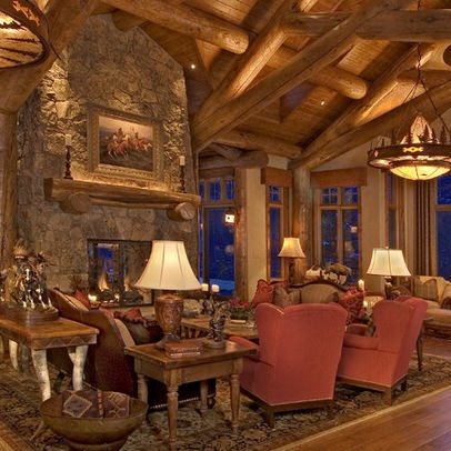 Log House Design, Pictures, Remodel, Decor And Ideas   Page 14 · Log Home  DecoratingInterior ...