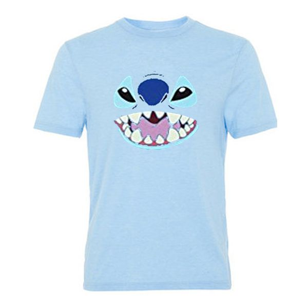 lilo and stitch big face tshirt
