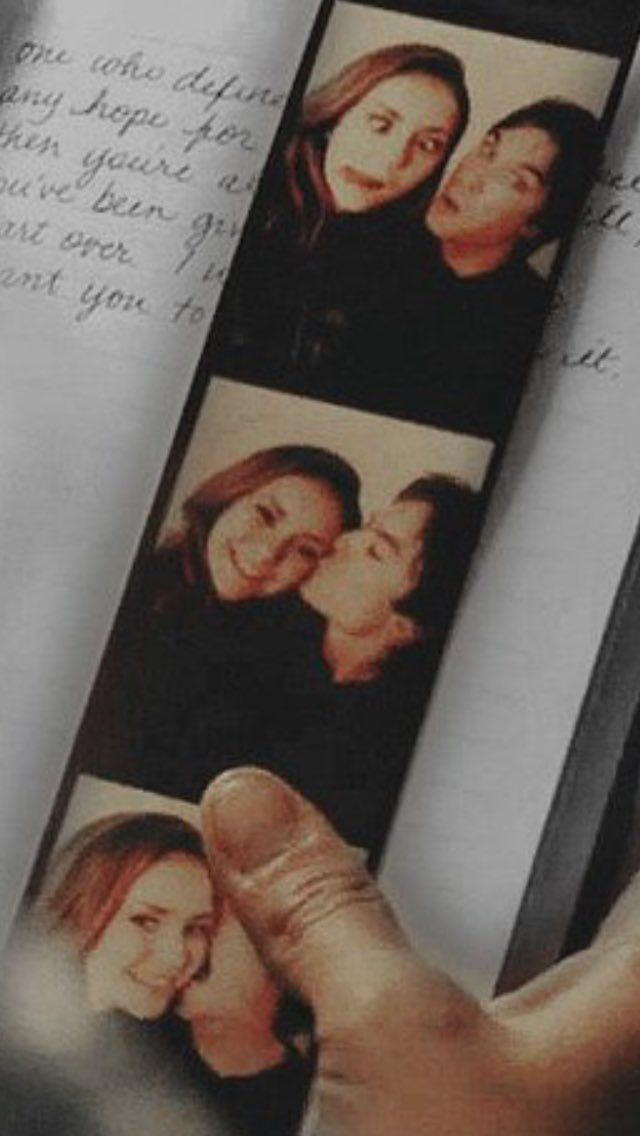 The Vampire Diaries: Elena and Damon | Aww they're so cute!