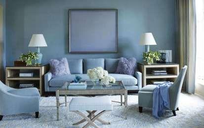 Arredare un salotto accogliente - Tonalità fresche e rilassanti