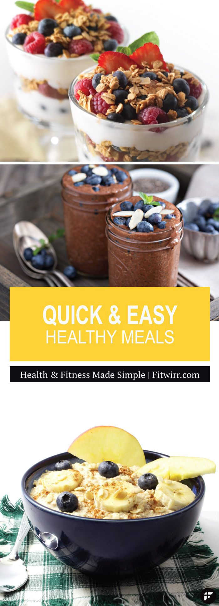 Quick and easy healthy meal ideas for cooking at home. #healthymeals