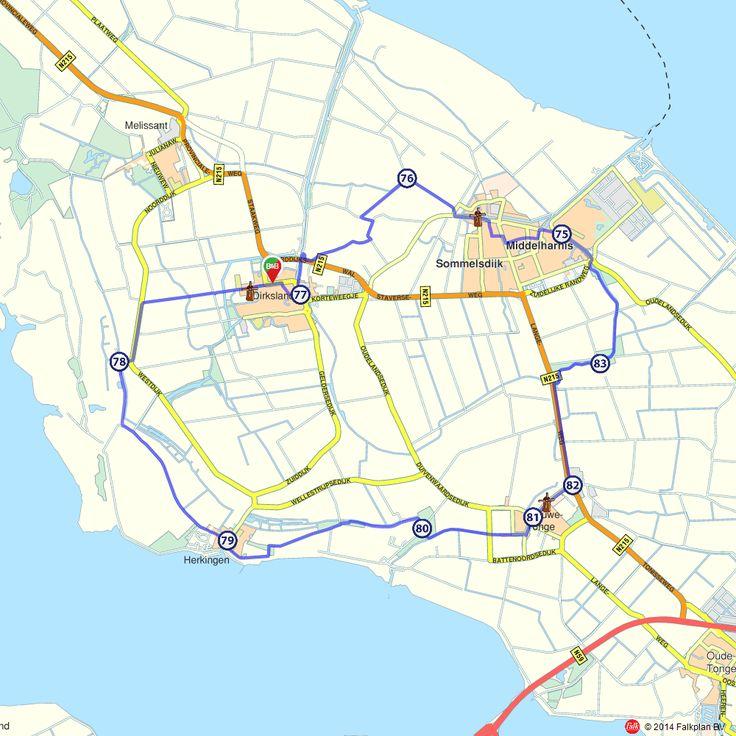 Fietsroute: Dirksland, Nieuwe-Tonge en Middelharnis  (http://www.route.nl/fietsroutes/138571/Dirksland-Nieuwe-Tonge-en-Middelharnis/)