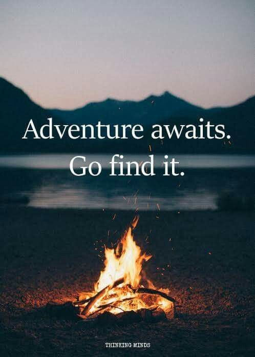 Adventure awaits !!! 👌👍✌