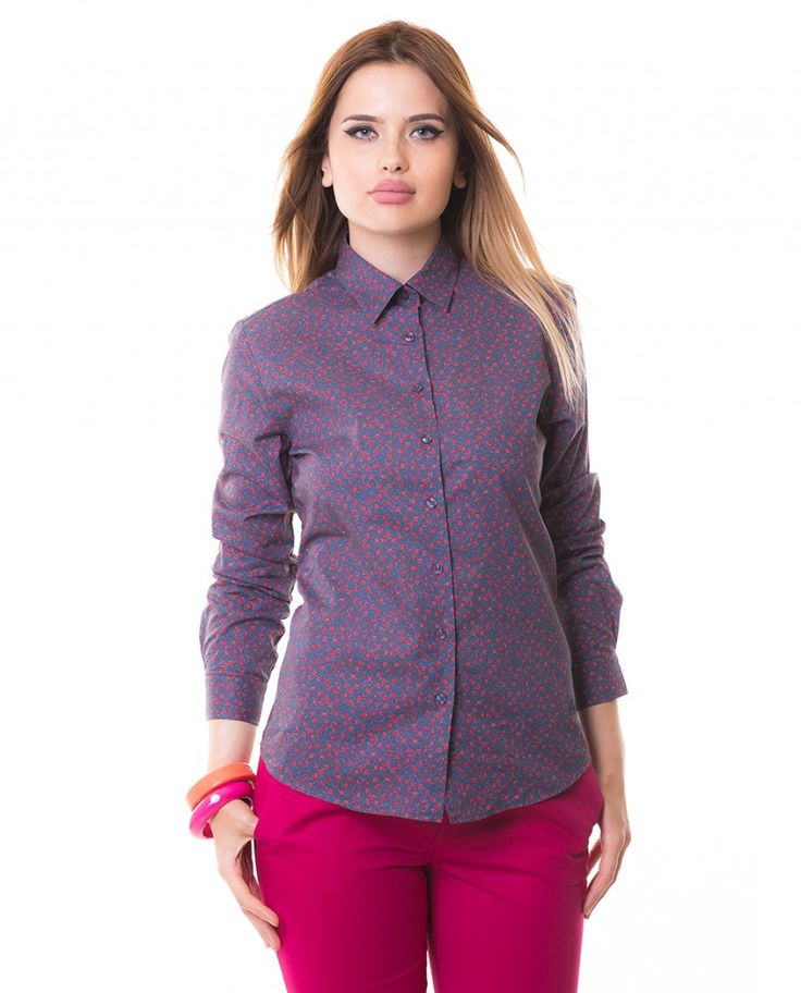 Karaca Bayan Casual Gömlek - Lacivert #womensfashion  #shirt #gomlek #karaca #ciftgeyikkaraca www.karaca.com.tr