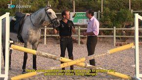 Continuação da aula com Pedro Torres, Campeão Mundial de Equitação de Trabalho. Produção: Tribuna Lusitana - TLHD www.tlhd.com.br