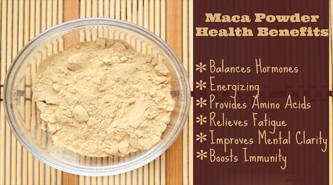 Maca is rich in vitamin B vitamins, C, and E.