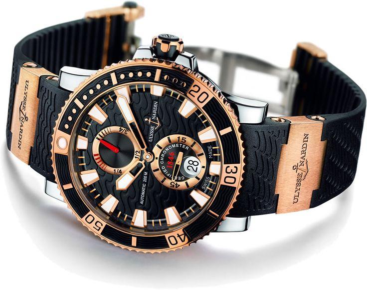 ulysse-nardin-maxi-marine-diver-titanium-rose-gold-black-dial
