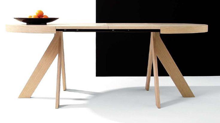 M s de 1000 ideas sobre mesas de comedor ovalada en - Mesa de comedor plegable extensible ...