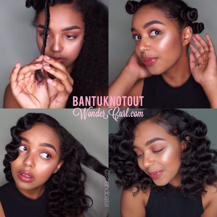Want to get this look like @shadbatal? Check out her #bantuknot out tutorial! #naturalhair #teamnatural