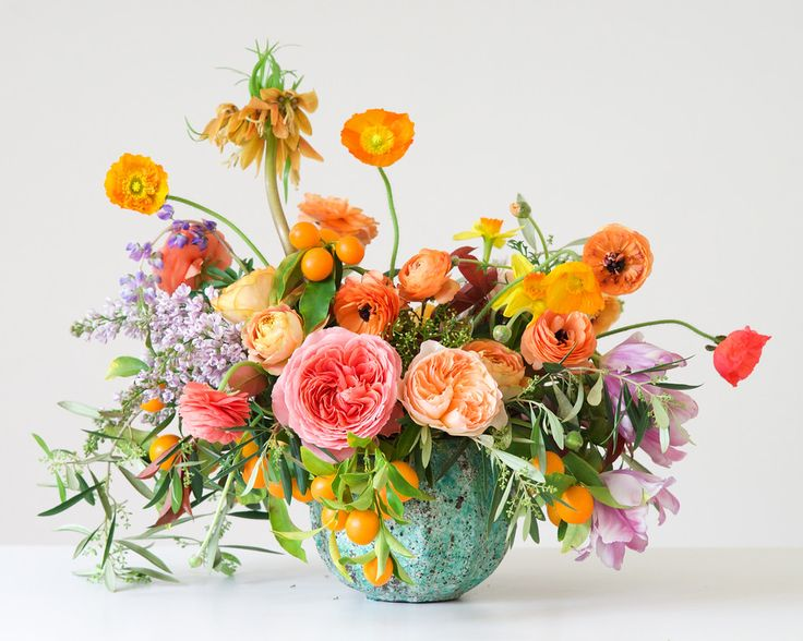 You can order prints of these gorgeous floral arrangements by Kiana Underwood, owner of Tulipina. She is featured in the May/June/Jul '16 issue of Where Women Create magazine.