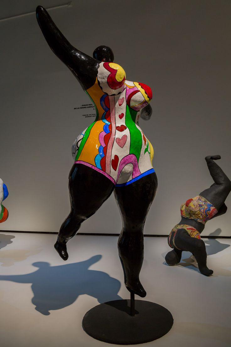 2014/10/10 18h03 Niki de Saint Phalle, «Nana danseuse noire (Grande danseuse négresse)» (vers 1968) | Exposition Niki de Saint Phalle, Grand Palais (Paris)