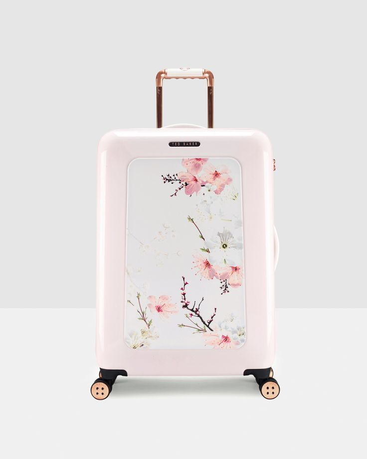 Oriental Blossom medium suitcase - Baby Pink | Bags | Other Europe Site