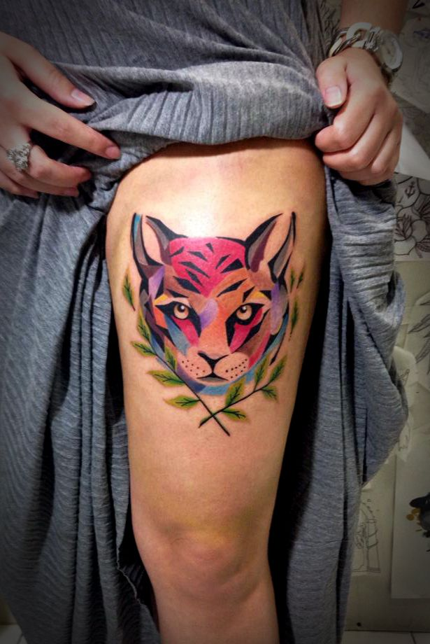 El cuervo ink ctba pr by tyago compiani tatouages - Tatouage la mort ...