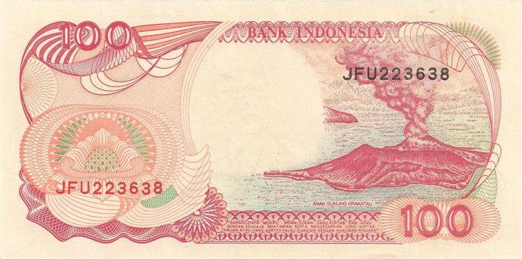 Wertseite: Geldschein-Asien-Indonesien-Rupiah-100-1999