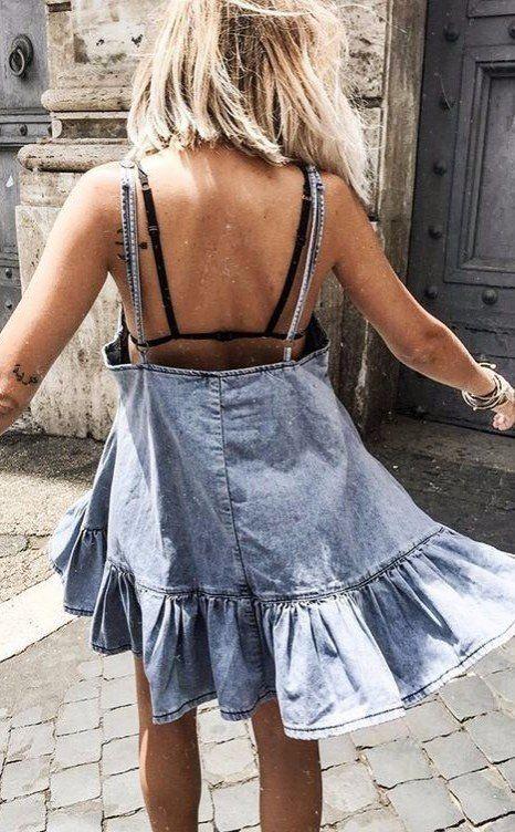denim dress perfection
