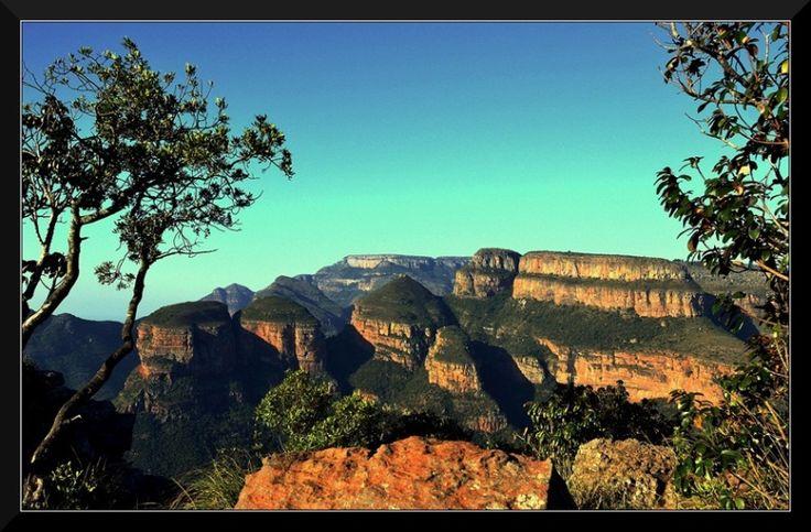 Three Rondavels - Graskop, Mpumalanga, Blyde River Canyon, South Africa