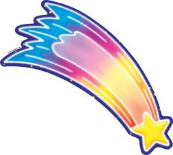 Blue Star Shooting Star Clipart - Clipart Kid