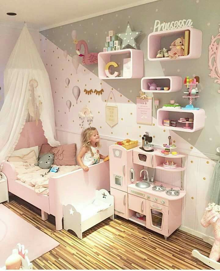 Kids Room Decorating Ideas To Inspire You 2020 In 2020 Toddler Bedroom Girl Toddler Girl Room Toddler Bedrooms