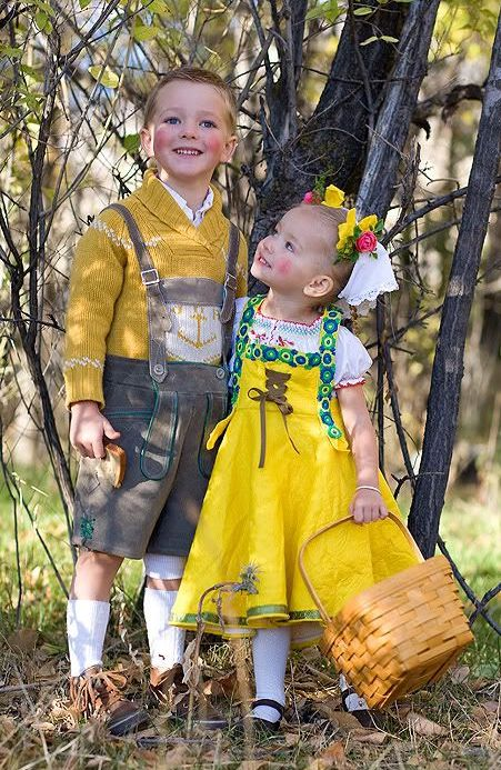 Hansel and gretel fairy tale costumes
