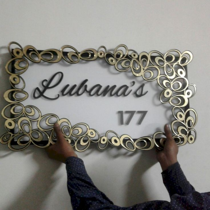 awesome 70 Modern and Affordable DIY Door Name Plates Ideas  http://about-ruth.com/2017/08/28/70-modern-affordable-diy-door-name-plates-ideas/