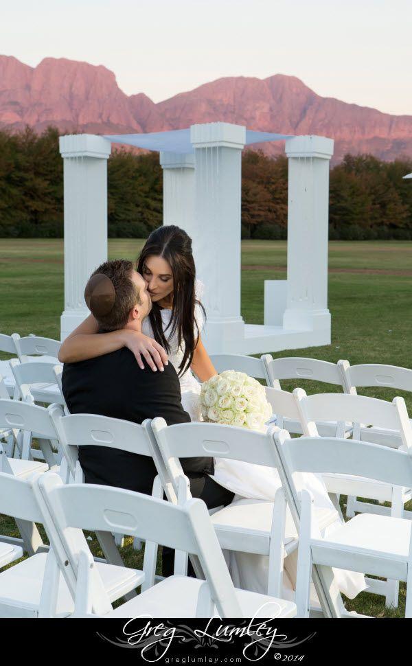 Wedding photos at Lourensford Wine Estate.