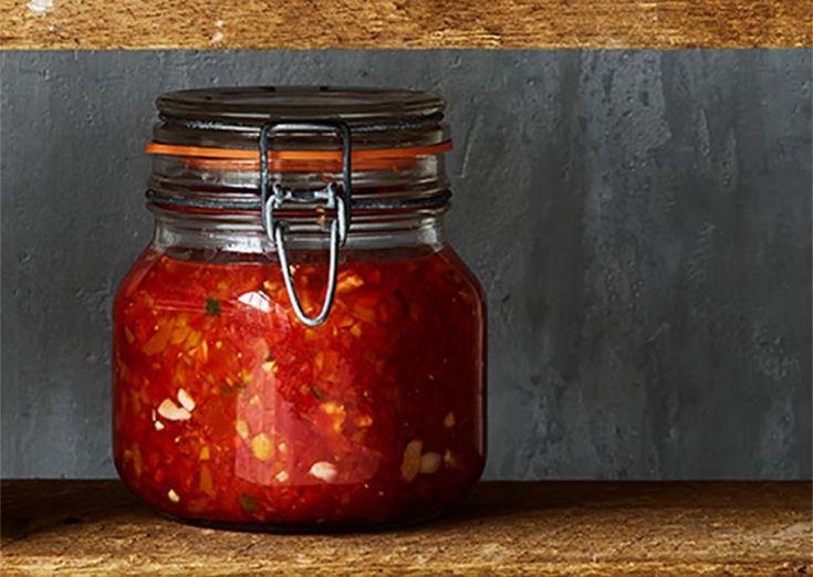 Fermenteret peberfrugt-relish | Meny.dk