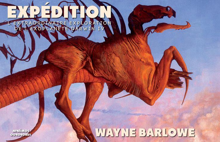 Expédition de Wayne Barlowe, pour la première fois en France, la traduction du chef d'œuvre de science-fiction par l'un des maîtres américain de l'illustration. Partez à la découverte de l'exoplanète Darwin IV et de sa faune extraordinaire !