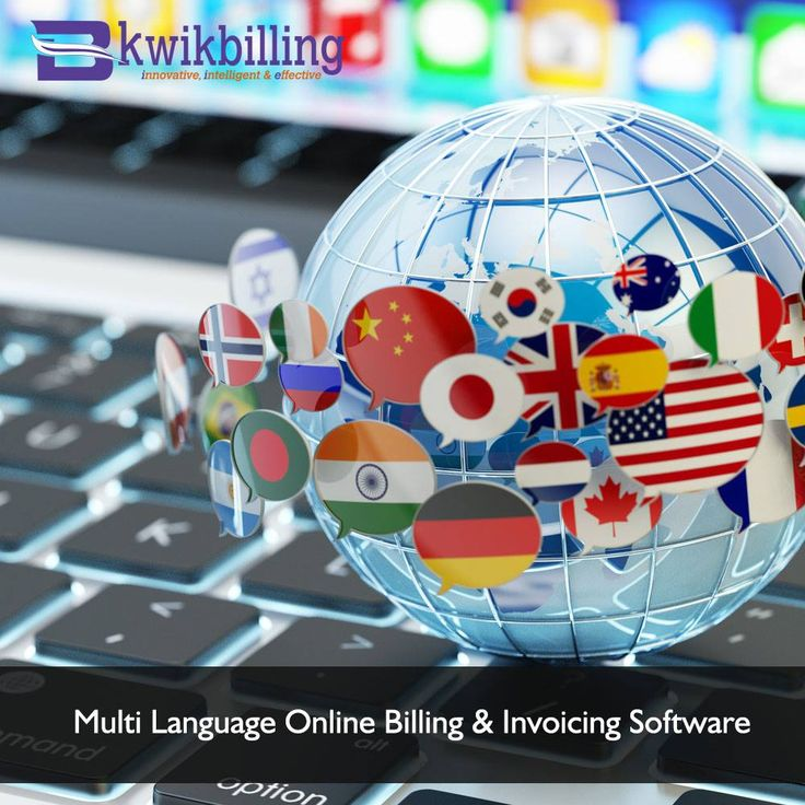 Multi Language Online #Billing #Software and Invoicing Services - #KwikBilling -  https://goo.gl/mxVSjO