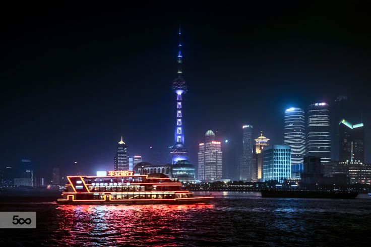Shanghai Bund上海 外滩 by FaceChoo Yong on 500px