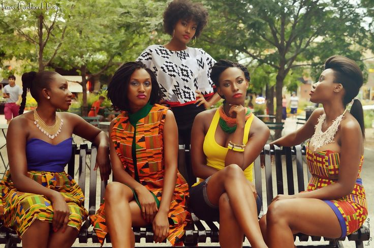 kente on the streets by Inzozi Fashion.