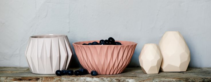 Handmade porcelain by Nina Meldgaard Studio. www.ninameldgaard.dk