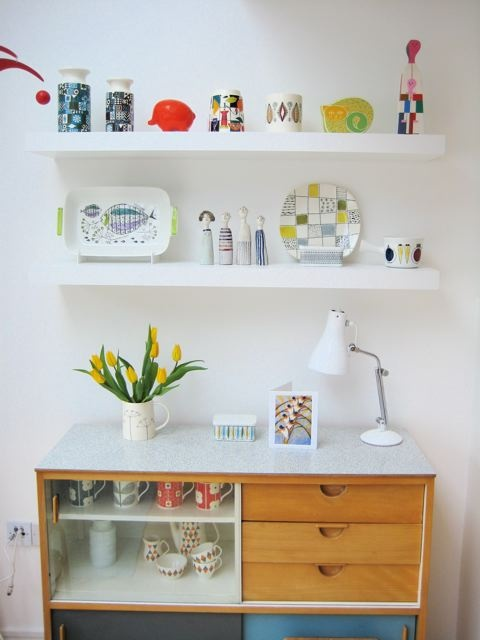 Jane Foster Blog: 50s and 60s ceramics - Beautifully styled