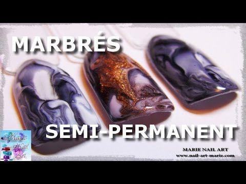 [TUTO] Marbrés en vernis semi-permanent - YouTube