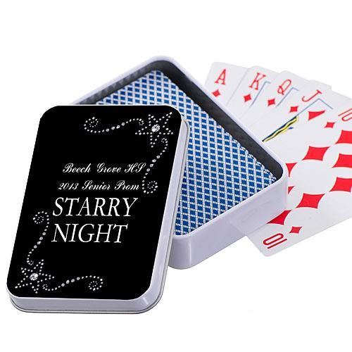 Starry Rhinestones Playing Card Cases
