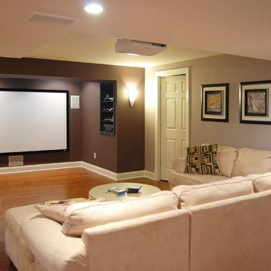 my tv room basement project pinterest basements