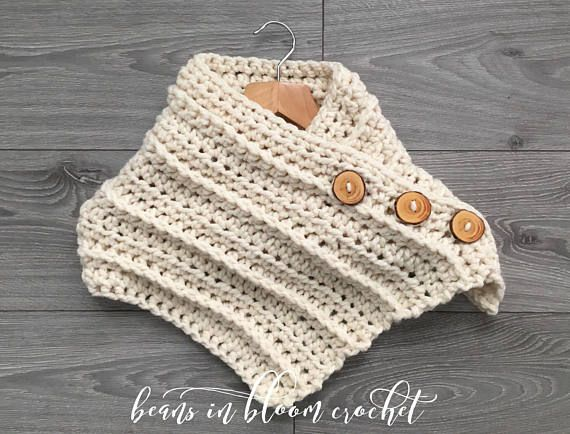 The Charlize Button Up Cowl is new to my Winter 2017 line up. My own original design, this button up scarf/cowl is made in a super soft, squishy wool/acrylic blend chunky yarn and features loads of texture. Get ready to turn heads and receive compliments whenever you wear your