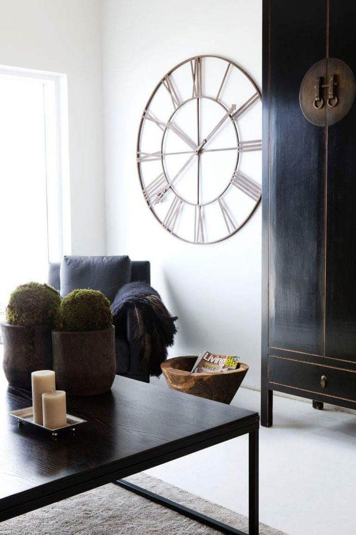The 25 best asian wall clocks ideas on pinterest asian clocks living room with asian furniture and wall clock ways to hang wall clocks check more at amipublicfo Images