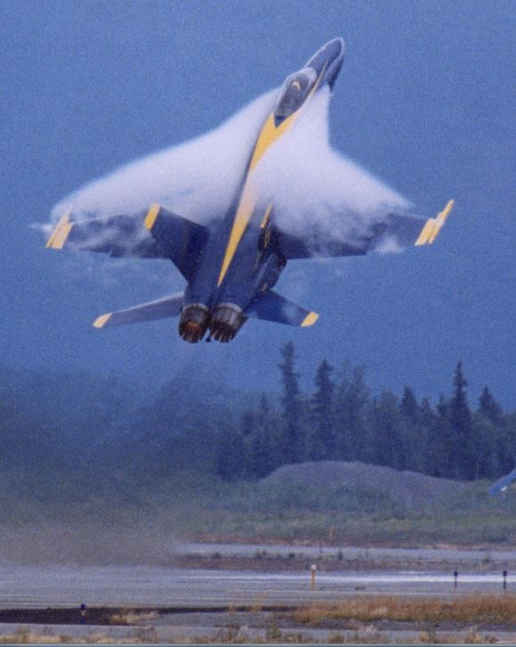 McDonnell Douglas F/A-18 Hornet - Blue Angels, United States Navy (USN), United States.