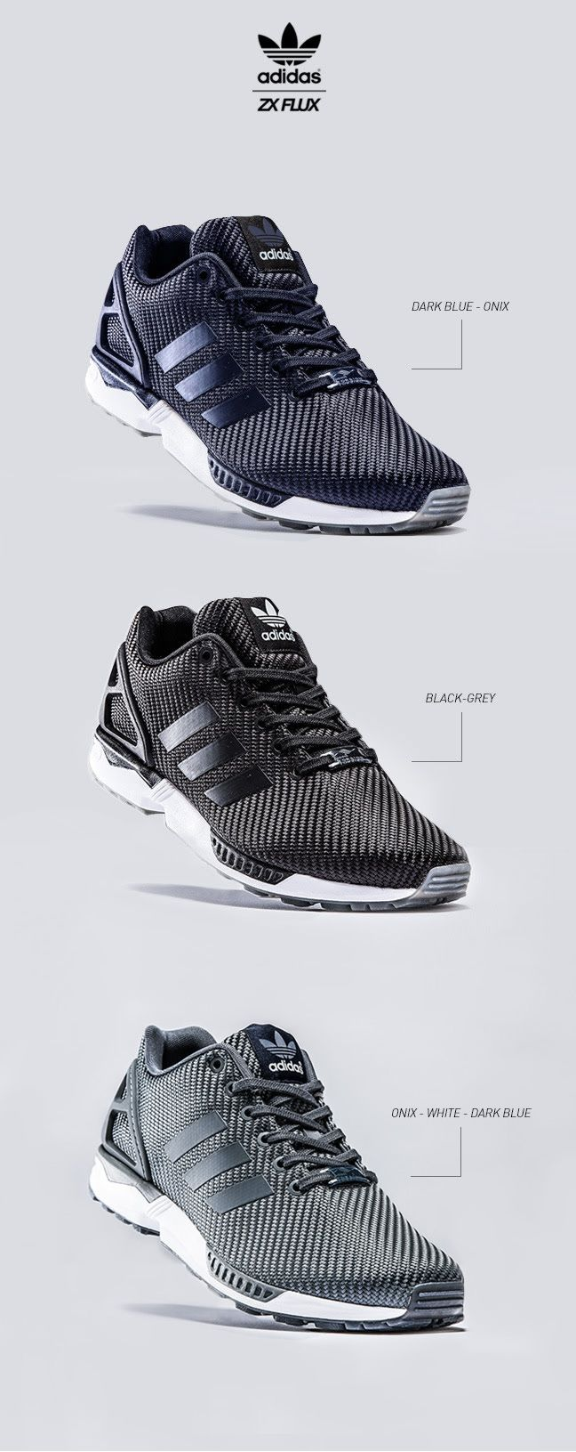 adidas ZX Flux Woven | Raddest Men's Fashion Looks On The Internet…