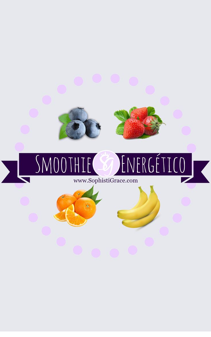 Energy Smoothie/Smoothie Energético